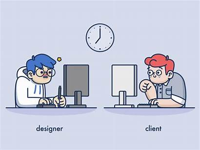 Designer Budget Animation Client Graphic Computer Desk