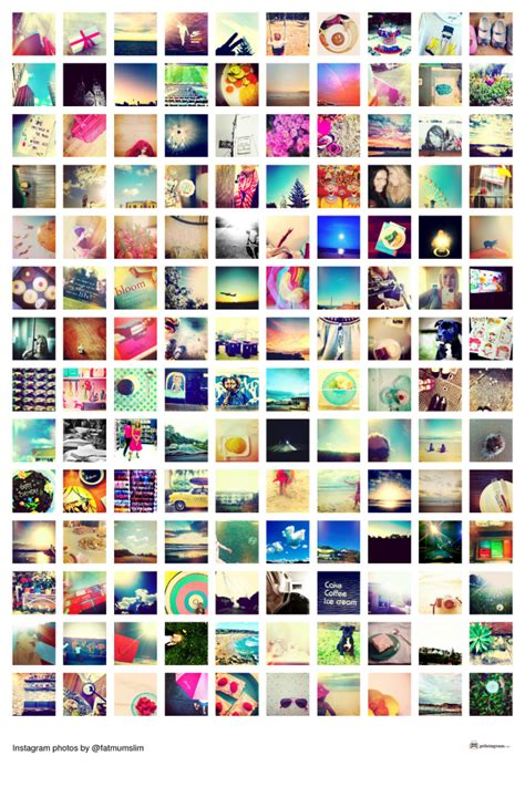 create  collage poster   instagram