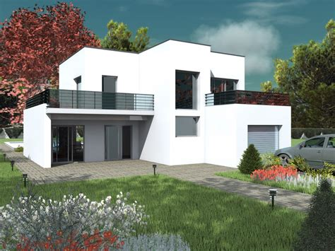 plans de maisons contemporaines segu maison