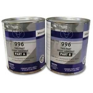 johnsonite 996 two part epoxy adhesive gallon