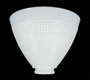 8quot floor table lamp reflector shade milk white corning With floor lamp reflector shade glass