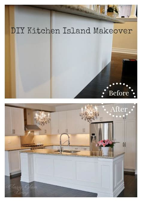 kitchen island makeover ideas diy kitchen island makeover glam living how do 5112