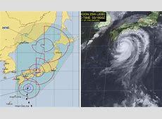 Typhoon Jebi Warning of floods and landslides in Japan as