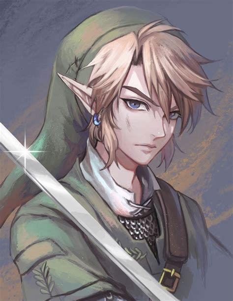 Link Just Look So Handsome In This Fan Art With Images