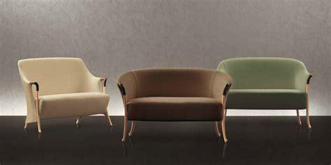 Giorgetti Progetti 63232 2-seat In Beech Wood Sofa