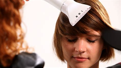 how to style your hair with dryer straighten hair with dryer hairstyles