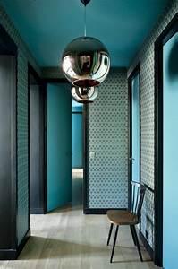 Porte De Couloir : papier peint pour couloir comment faire le bon choix ~ Nature-et-papiers.com Idées de Décoration