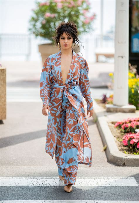 Camila Cabello Out About Cannes Hawtcelebs