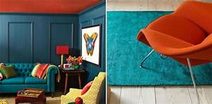 Tapis Bleu Petrole : decoration couleur peinture bleu p trole sarcelle tapis couleur de peinture 2017 le bleu ~ Teatrodelosmanantiales.com Idées de Décoration