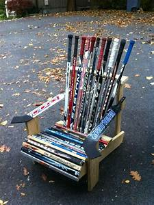 How To Build A Hockey Stick Chair - WoodWorking Projects