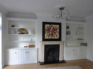 Fitted Alcove Units Bespoke Carpentry