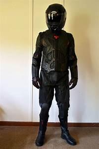 Tron Legacy Rinzler Motorcycle Helmet