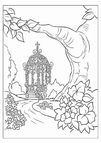 Coloring Pages Adults Environment Nature Save Earth