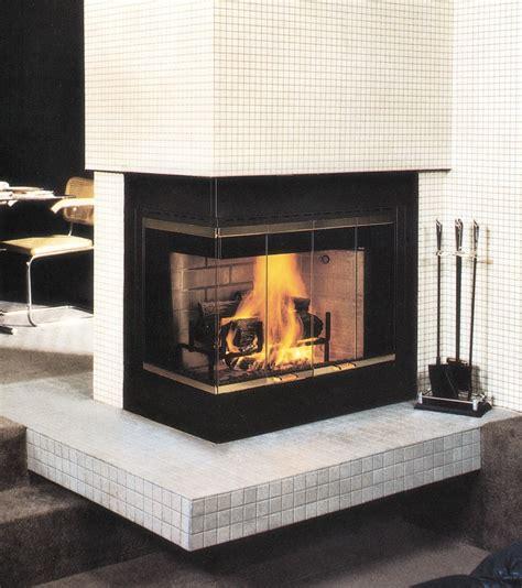 Wood-Burning Corner Fireplace Ideas