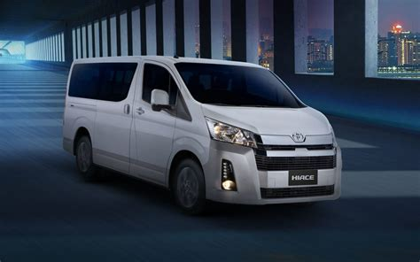 toyota ph launches   hiace