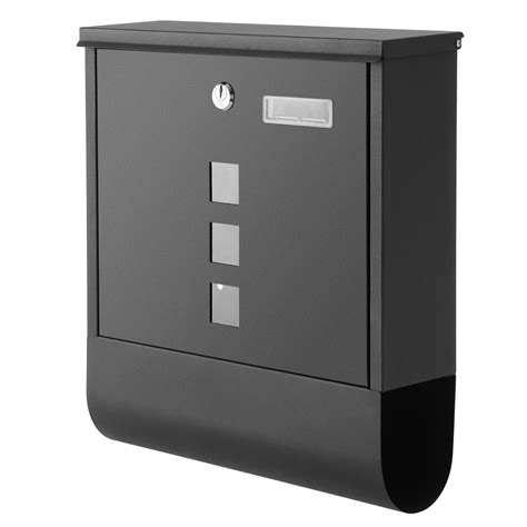 Anfan Drop Box Mailbox Wall Mounted Mailbox Lockable With