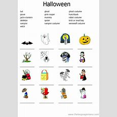 Hello English Class Halloween Activity