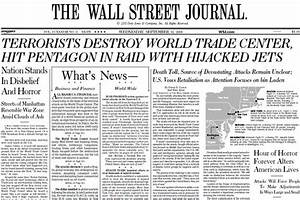 The Wall Street Journal of Sept. 12, 2001 - WSJ