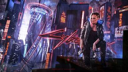 Cyberpunk 2077 Concept Wallpapers January Games 4k