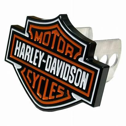 Harley Davidson Logos Orange Plasticolor Hitch Truck