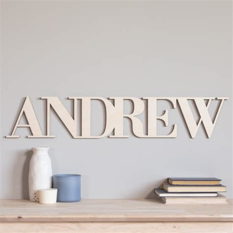 connected wood letters wooden words craftcutscom