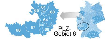 Postleitzahlen 68... In Deutschland