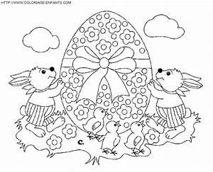 Oeuf De Paque : dessin oeuf de paques az coloriage car interior design ~ Melissatoandfro.com Idées de Décoration