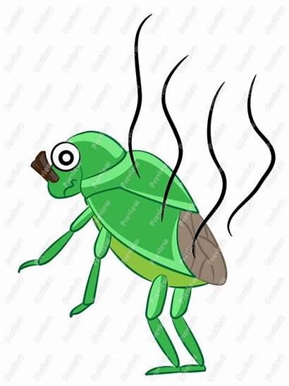 Stink Bug Clipart Clip Bugs Cartoon Line