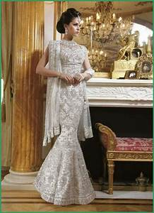 latest white wedding lenghas styles for 2016 With wedding dress indian inspired