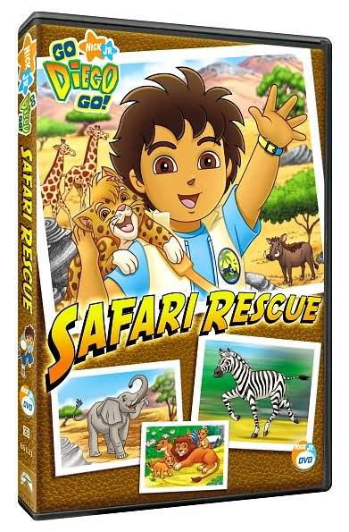 Barnes And Noble Dvd by Go Diego Go Safari Rescue 97368512122 Dvd Barnes