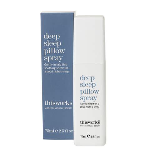works deep sleep pillow spray ml reviews shipping