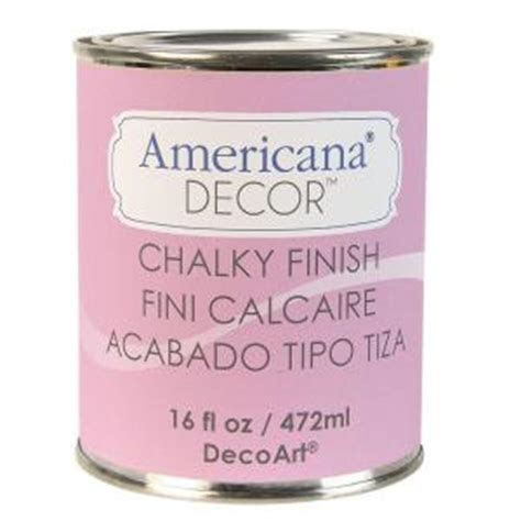 Americana Decor Chalky Finish Paint 2 Oz by Decoart Americana Decor 16 Oz Innocence Chalky Finish