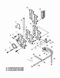 Force 120 Hp  1998  Reed Plate  U0026 Primer Parts