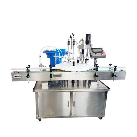 automatic rotary liquid filling  capping machine  plastic glass botte vial jar