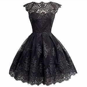 fashion tutu dress short bridesmaid lace evening dress With robe de soirée noire courte