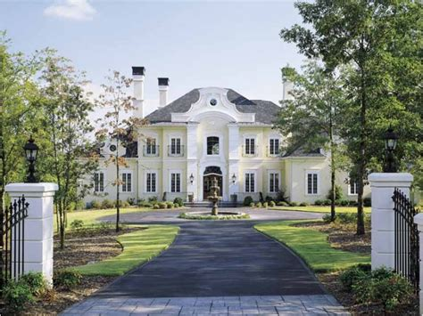 chateau style homes eplans chateau house plan grace 5235 square