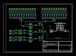 Pv Line Diagram Deck In Autocad