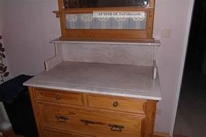 Waschtisch Kommode Mit Marmorplatte : antike wasch kommode mit spiegel und marmorplatte von ca 1890 echte handarbeit ~ Markanthonyermac.com Haus und Dekorationen