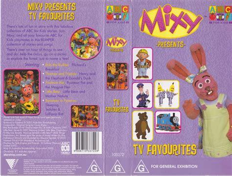 abc mixy presents more favorites vhs pal ebay