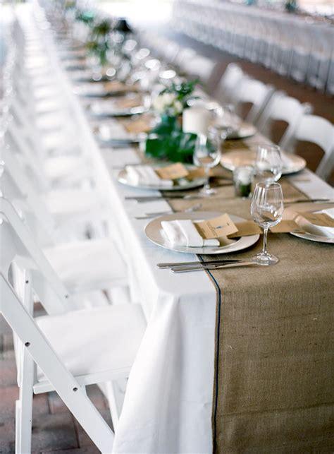 burlap for your rustic wedding - Burlap Runners Wedding