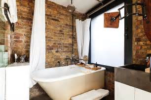small bathroom ideas 2014 exposed brick walls meet sustainable modern design in