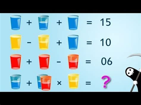 Glasses And Water Puzzle  90% Will Fail To Answer Youtube
