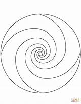 Coloring Pages Spiral Mandala Printable Dot Paper Drawing Getcolorings 1159 34kb 1500px sketch template