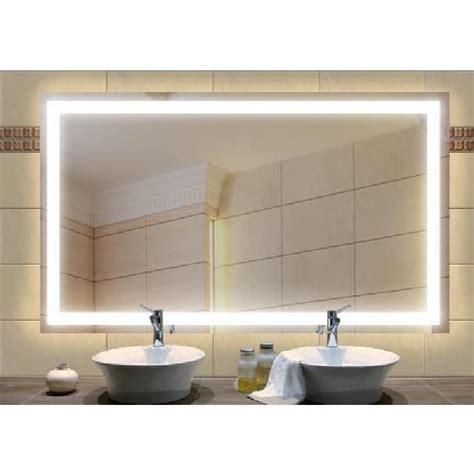 miroir 195 233 clairage int 233 gr 233 1400x600 mm achat vente