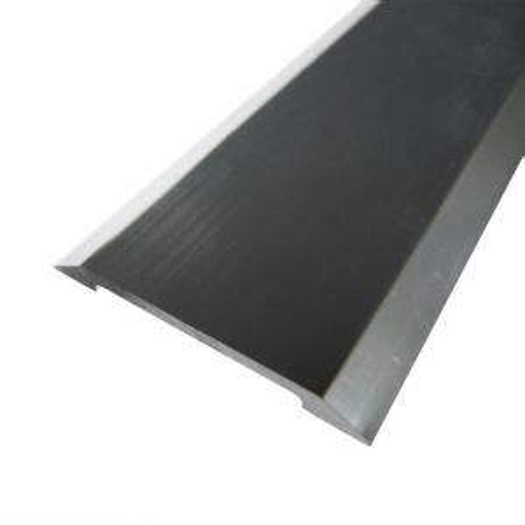 Flooring Transition Strips Aluminum by Trafficmaster Silver 1 3 8 In X 72 In Seam Binder