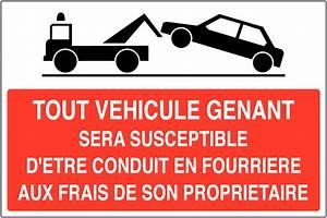 Mise En Fourrière : panneau de stationnement g nant mise en fourri re seton fr ~ Gottalentnigeria.com Avis de Voitures