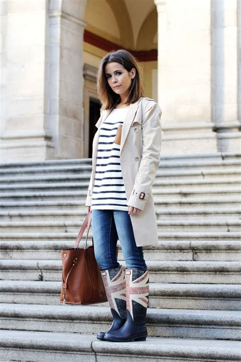 Chic and casual rainy day outfits | Style/Outfits | Pinterest | Union jack boots Dream closets ...