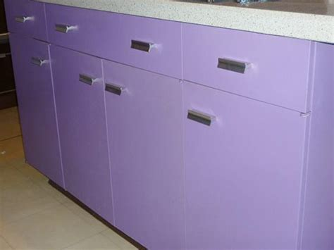 metal kitchen cabinets vintage purple and walnut 1970 st charles metal kitchen retro 7461