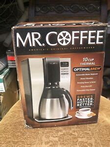 Coffee® optimal brew is an impressive machine, especially for this price point. Mr. Coffee BVMC-PSTX91 10 Cup Thermal Optimal Brew   eBay