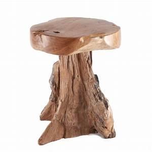Couch Hocker Als Tisch : teak holz hocker beistelltisch couch tisch wohnen wurzelfu natur geschliffen ebay ~ Bigdaddyawards.com Haus und Dekorationen